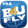 Logo for FAA B4U Fly